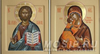 Какие иконы пишут на венчание?